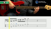 Ex021 How to Play Bass Guitar   Slap Bass Guitar Lessons for Beginners