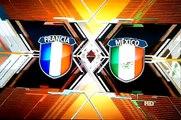 MEXICO 2 VS 0 FRANCE !!!!! world cup 2010 congratulation mexico go back home french lol