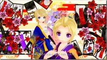 [Rin/Len Kagamine] Kagamine's hachi hachi flowery fight [Project Diva F] Acapella version
