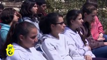 A Tree for Anne Frank at Yad Vashem Holocaust Memorial: Hannah Pick Attended Sapling's Ceremony