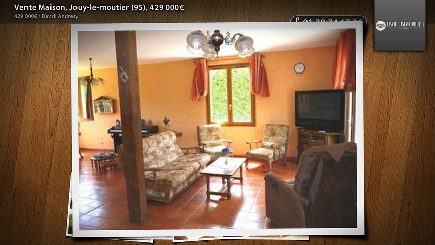 Vente Maison, Jouy-le-moutier (95), 429 000€