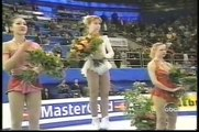 Ladies' Medal Award Ceremony - 1997 World Figure Skating Championships