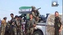 داعش يخسر مدينة تل أبيض وخط الإمدادات الى الرقة
