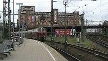 V160 003 mit Sonderzug in Hamburg !!/ v160 003 with specialtrain in Hamburg
