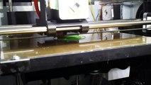Da Vinci 3d Printer Speed Demo