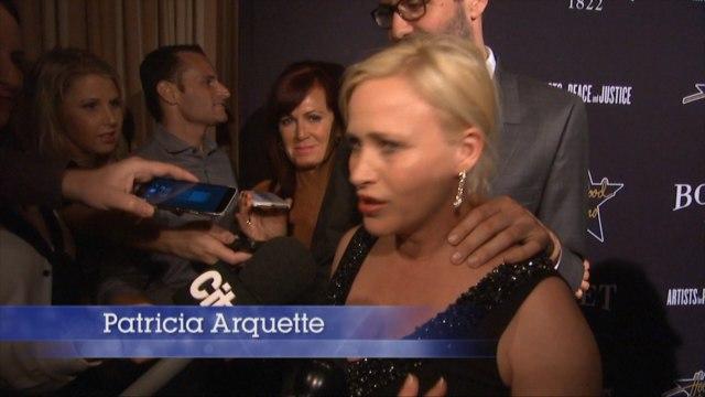 Natasha Bedingfield, Patricia Arquette At Hollywood Domino 'Oscar' Party