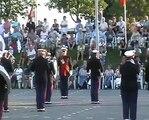 Marching- and Showband Mercurius Assen Holland, taptoe Yerseke Zeeland, Netherlands, Niederlande