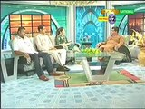 Sharmeela Farooqi Sexy Pose During Live Show