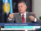 Arias Cárdenas propone vender productos en pesos en la frontera