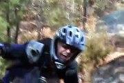 Mountain biking lynn woods, mass