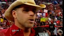 HBK Shawn Michaels Retires Last Farewell Speech 3/29/10 (WWE Monday Night Raw) 3/3