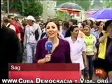 DAMAS DE BLANCO CUBA No2 Policías cubanos apalean y encierran a más de 30 Damas de Blanco.