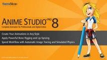 Anime Studio 8 Pro Feature: Import Photoshop Files
