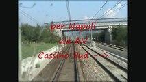 Treno Prove Archimede Linea Roma - Napoli via Cassino Ottavo Tratto Rocca d'Evandro - Tora (HD)