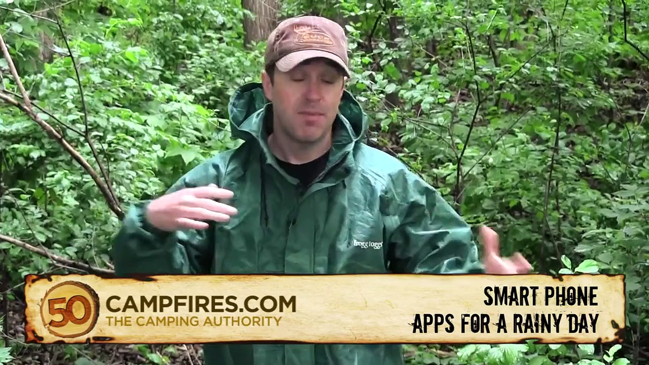 Camping Tips: iPhone Apps for Rainy Camping days