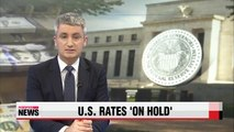 U.S. Federal Reserve leaves interest rates unchanged, but hike expected soon