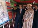 "Maroc : SM le Roi Mohamed Vl inaugure barrage ""Abou El Abbas Essebti"""