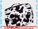 17 Women Laptop Notebook Case Bag Briefcase Leopard print cow print zebra print embossed crocodile