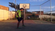 Soccer Tutorial #4 / Finta Con rabona Skills drible Football Freestyle Futbol Soccer HD