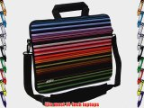 Designer Sleeves Retro Stripes Executive Case for 14-Inch Laptop Red (14ES-RS)