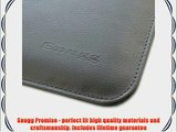 Snugg Macbook Pro 15 Case - Leather Sleeve with Lifetime Guarantee (Grey) for Apple Macbook
