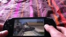 Cascade et chute en moto sur gta 3 (PSP)