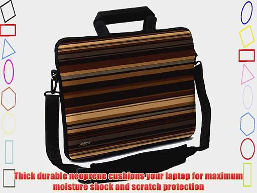Designer Sleeves 17-Inch Coffee Executive Laptop Case Brown (17ES-COF)