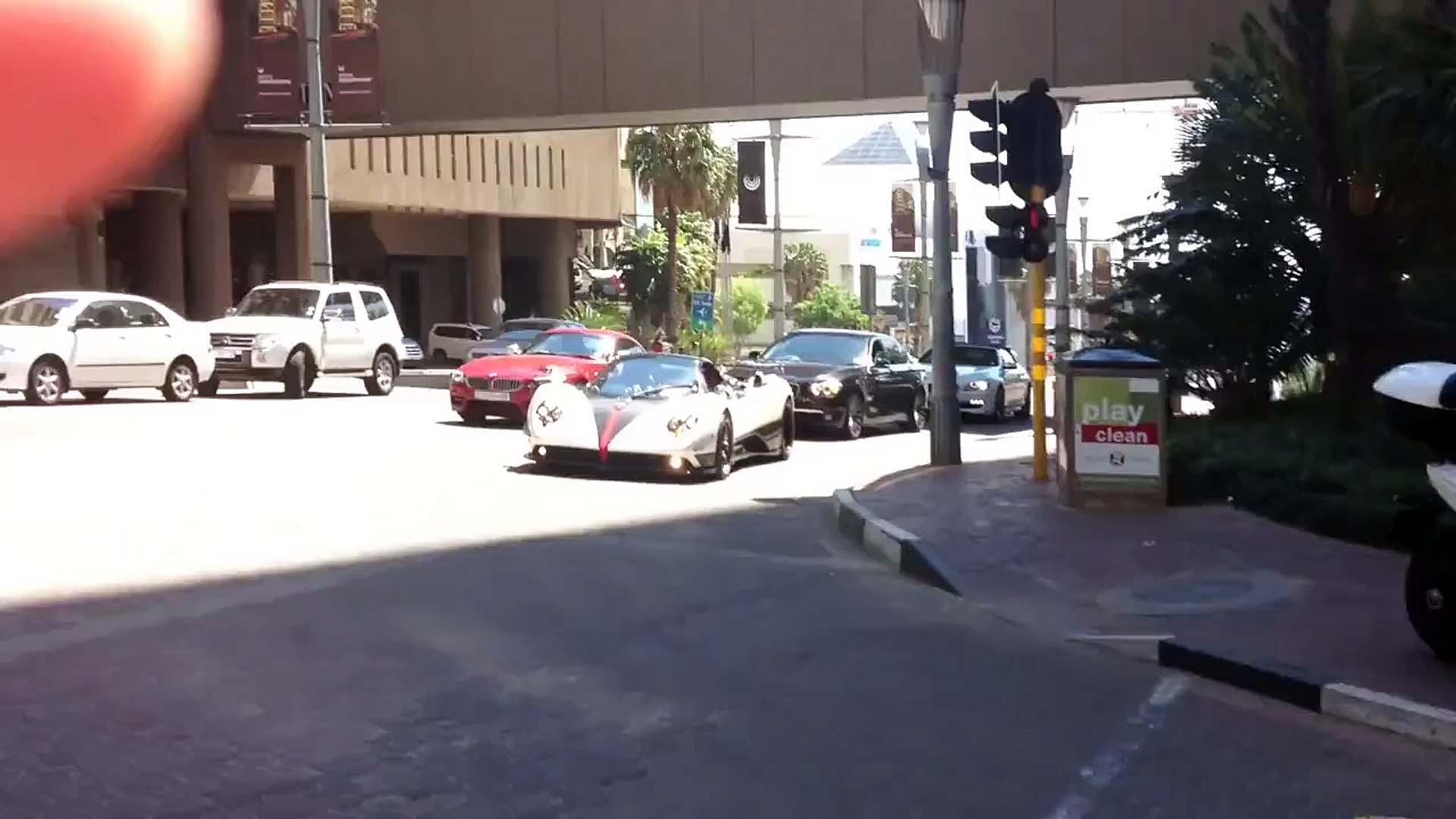 Pagani Zonda Roadster F Clubsport Spotted In Sandton South Africa Video Dailymotion