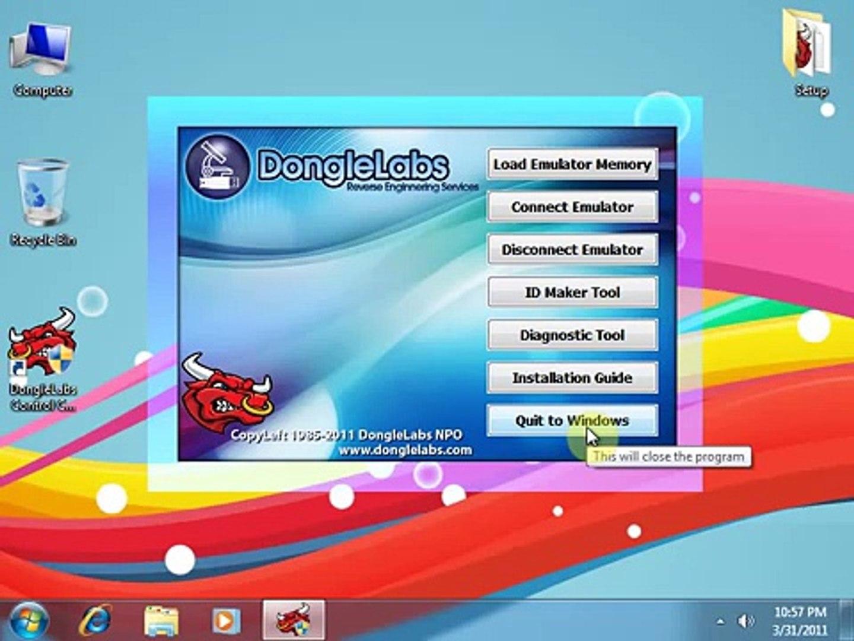 Installing DongleLabs Dongle Emulator