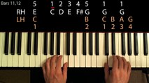 Learn to Play  Bachs Minuet in G Major (Beginner Piano Lesson)
