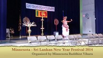 Minnesota Sri Lankan New Year 2014 - Sri Lankan Traditional Welcome Dance - Asadrusha Vannama