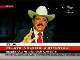 Presidente Zelaya: Micheletti perdió la vergüenza y ya no les importa mentir Septiembre 3 2009 2/2