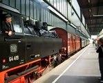 Dampflok Sonderfahrt mit 64 419 Stuttgart Hbf - Esslingen ║German Steam Locomotive BR 64