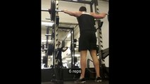 Back Squats ATG 20 x 100kg (20 x 220lbs) - in under 60 seconds