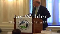 Working in the Dark:  A CBC Forum on MTA Capital Planning - Jay Walder (Clip 1)