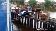 This Man Tries To Load His Car Into The Cargo Ship In The Most Epic Way