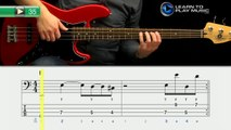 Ex035 How to Play Bass Guitar   Slap Bass Guitar Lessons for Beginners