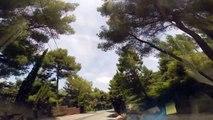 Driving in France - Route des Crêtes - La Ciotat - Cassis (3)
