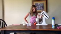 Make and Bake a Vanilla Cake with Sophia of Sprinkles on the Spot