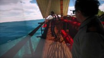 Reconstitution virtuelle d'un navire du 18ème siècle