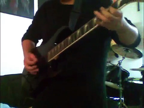 Cemetery Gates Guitar Cover