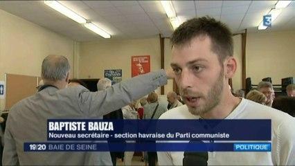 Baptiste Bauza élu secrétaire de section
