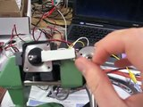 Control a Stepper motor with an Arduino a Rotary Encoder and