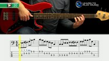 Ex020 How to Play Bass Guitar   Slap Bass Guitar Lessons for Beginners