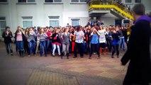 Flash mob Lycée Jacques Prévert pont-audemer