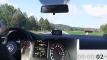 VW Polo 1.2 TSI 0-100 km/h Handschalter (0-60 mph - manual - Stick shift)