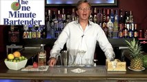 How to make a ABSOLUT BROOKLYN Cocktail - Drink recipes from The One Minute Bartender