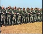 Indian and Chinese troops display their strategic skills