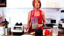 Chia Pudding Pudding in a Blender - Getting Into Raw Cooking With Zane | healthy vegetarian recipes,
