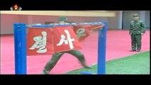KCTV - North Korea Special Forces Extreme Taekwondo Demo [720p]